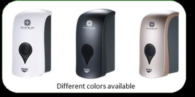 Evie Blue dispensers