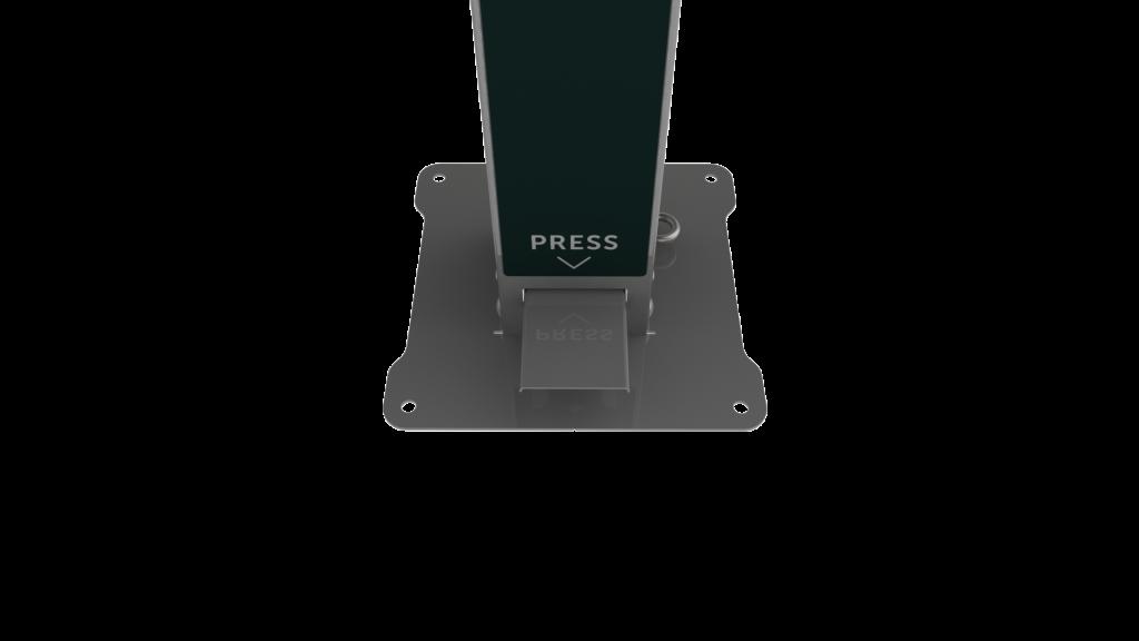 oxyfoam dispenser prime foot pedal