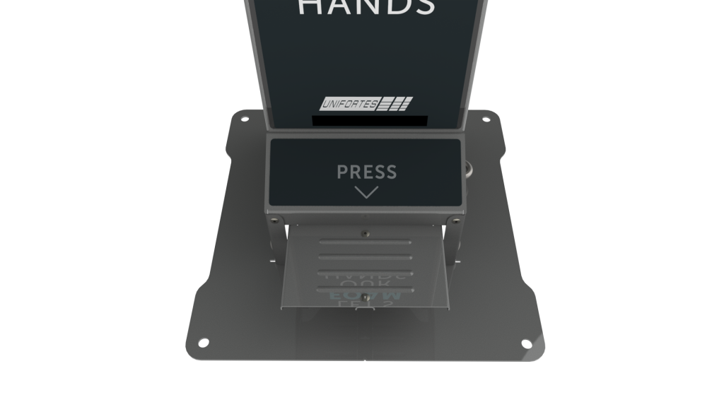 oxyfoam dispenser pro foot pedal